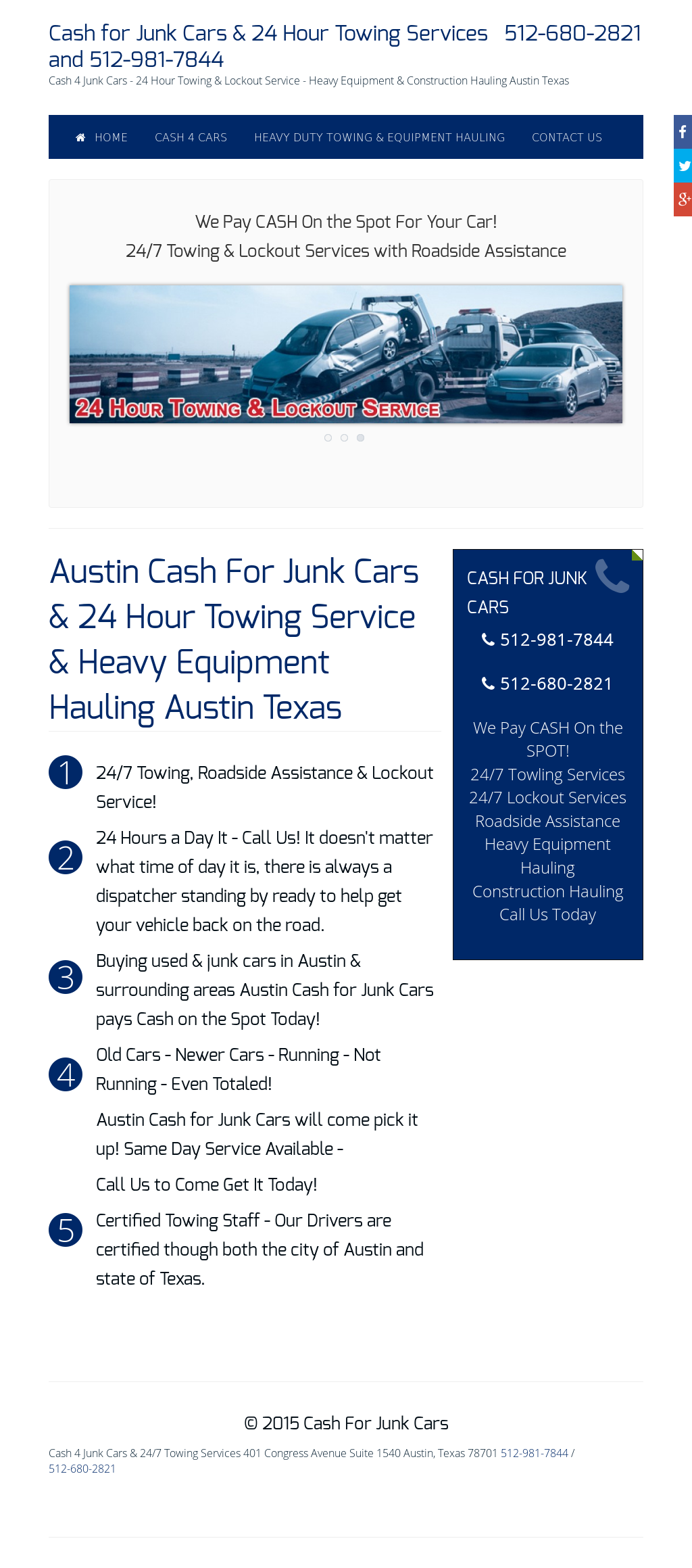 24 Hour Junk Cars >> Austin Cash For Cars 24 Hour Towing Service Competitors Revenue