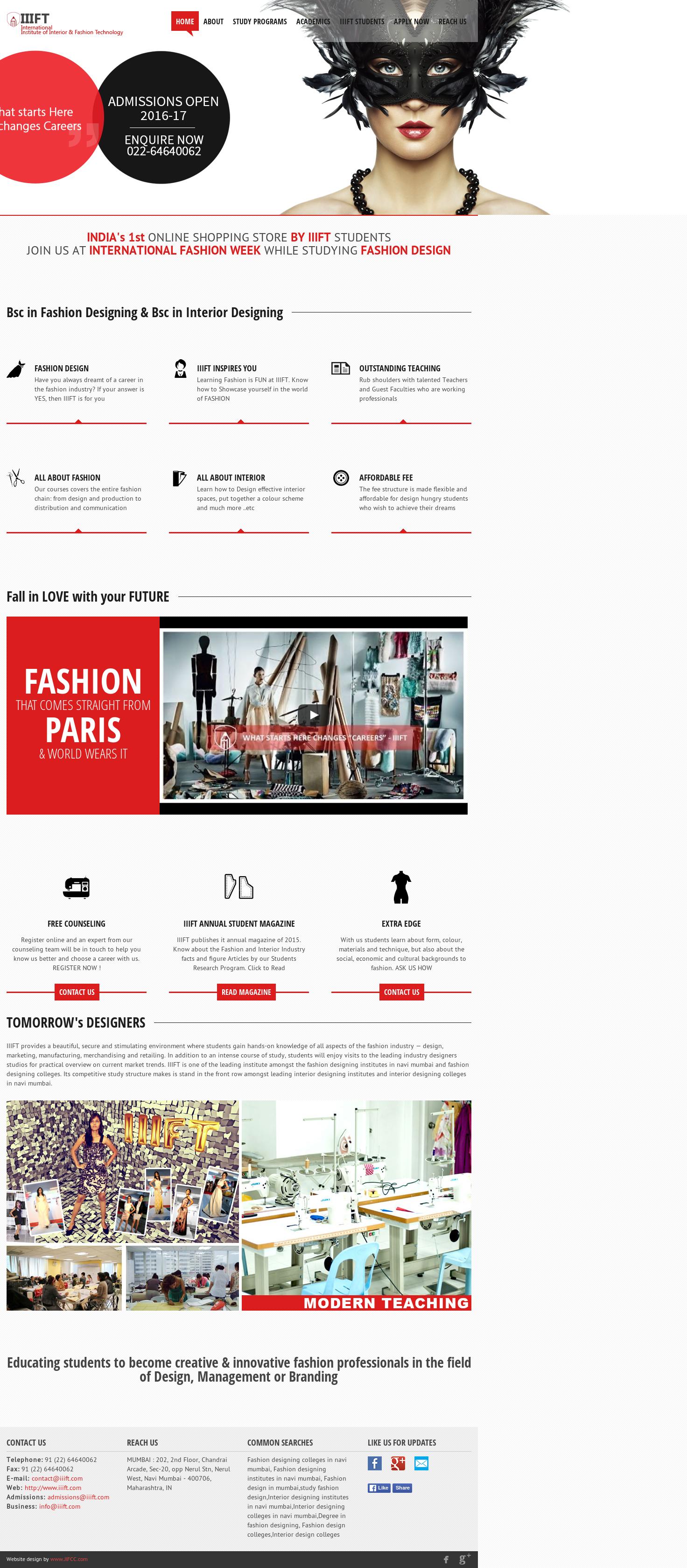Iiift Fashion Interior Design Competitors Revenue And Employees Owler Company Profile