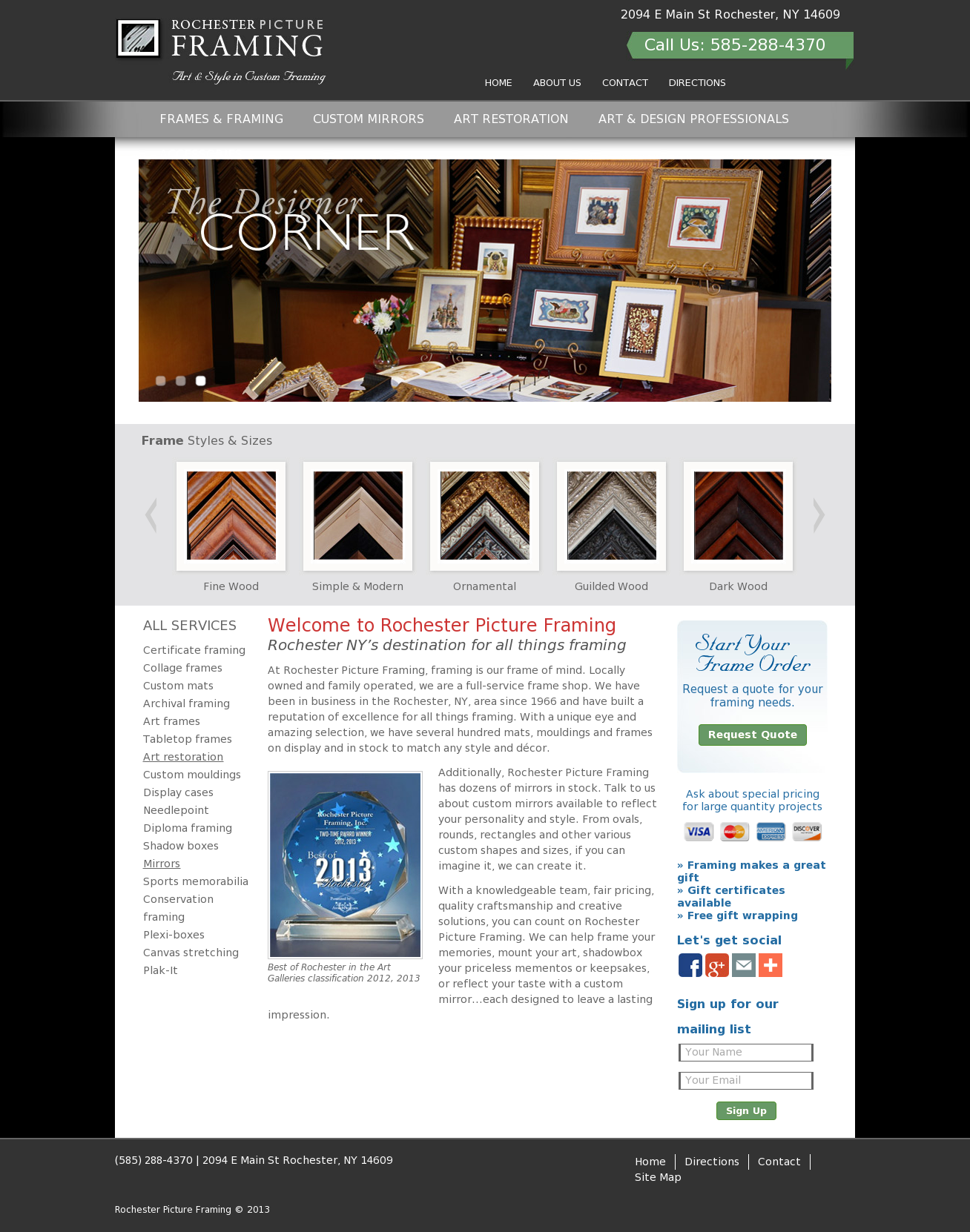 Rochester Picture Framing Competitors, Revenue and Employees - Owler ...