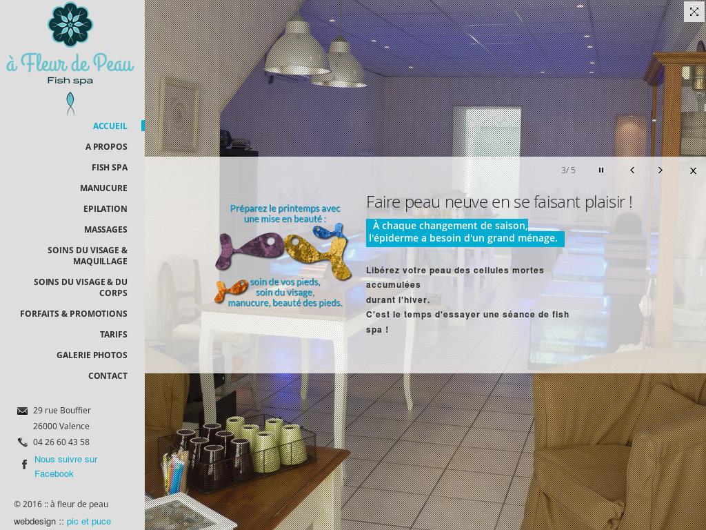 A Fleur De Peau Fish Spa Competitors, Revenue and Employees
