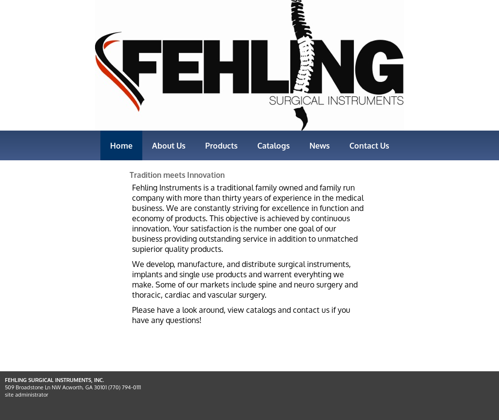 Fehling Surgical Instruments Competitors, Revenue and Employees
