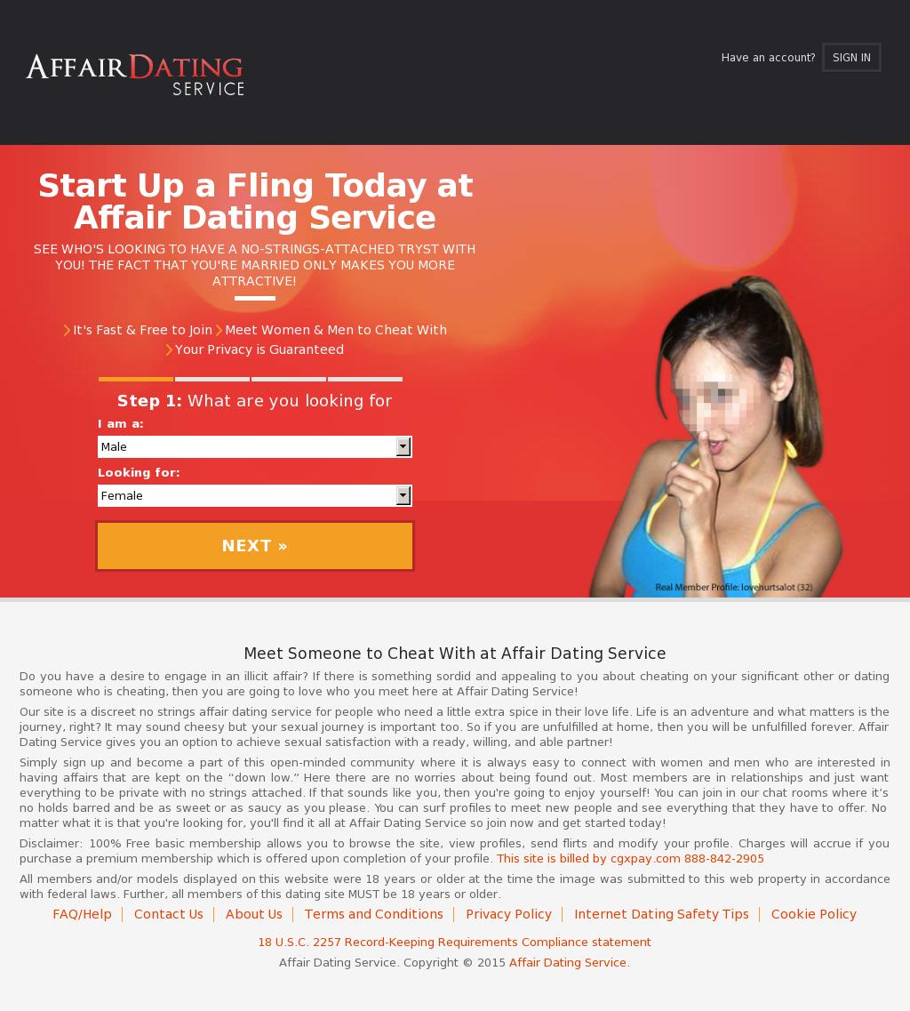 affair dating com