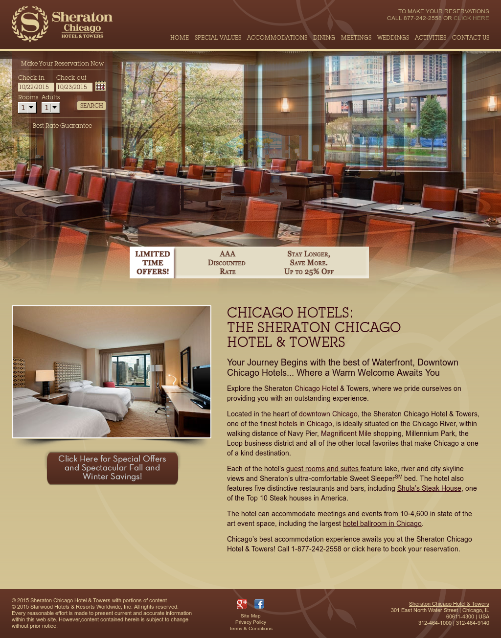Owler Reports - Sheraton Chicago Hotel & Towers: Cat