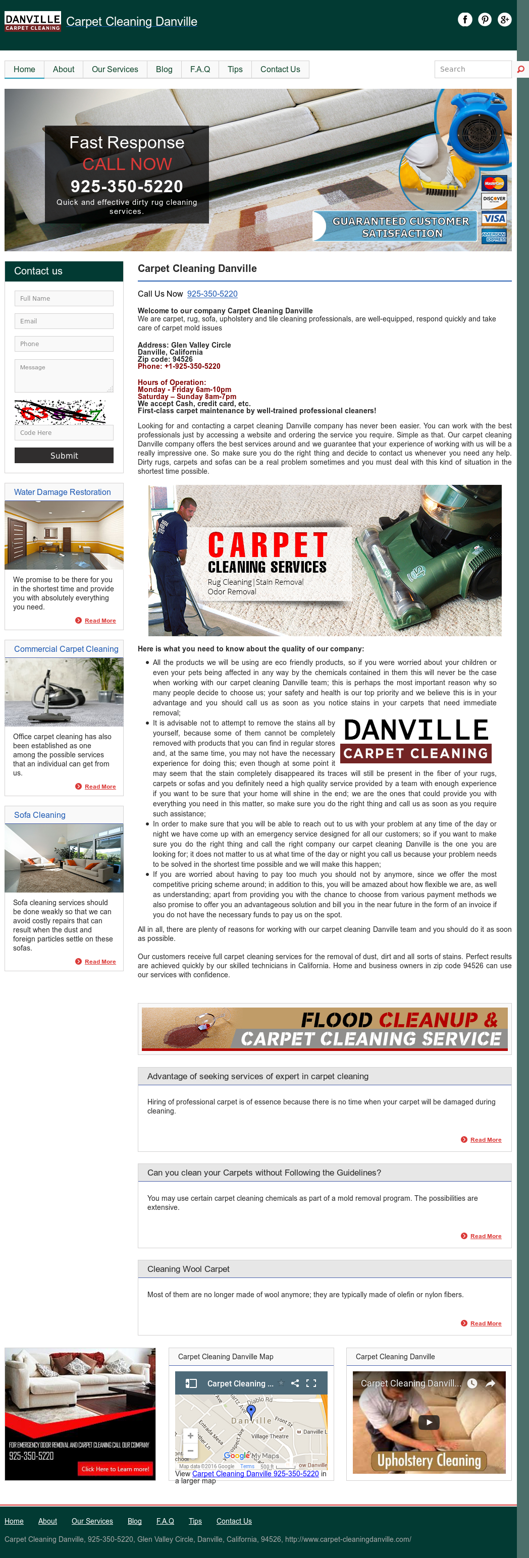 Carpet Cleaningdanville Competitors, Revenue and Employees