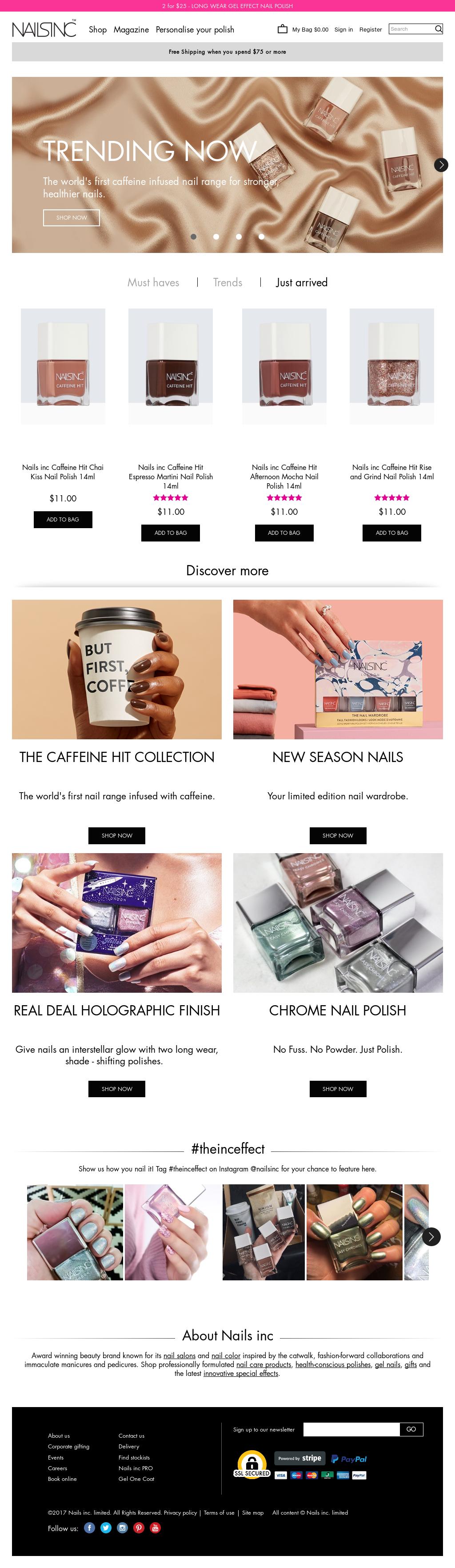 Nail Inc Paint Can Revenue