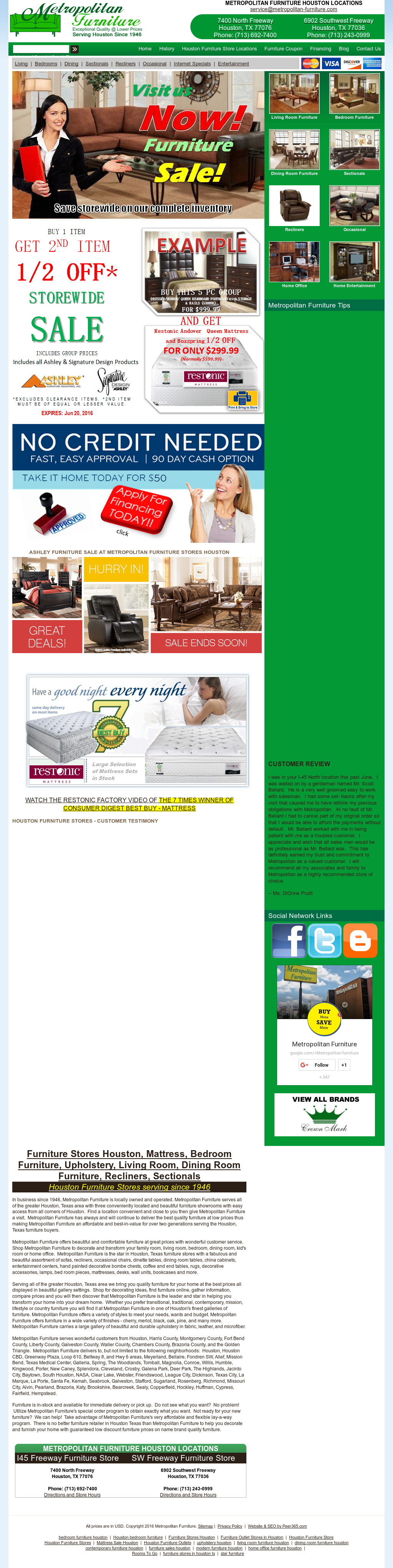 Charmant Metropolitan Furniture Website History