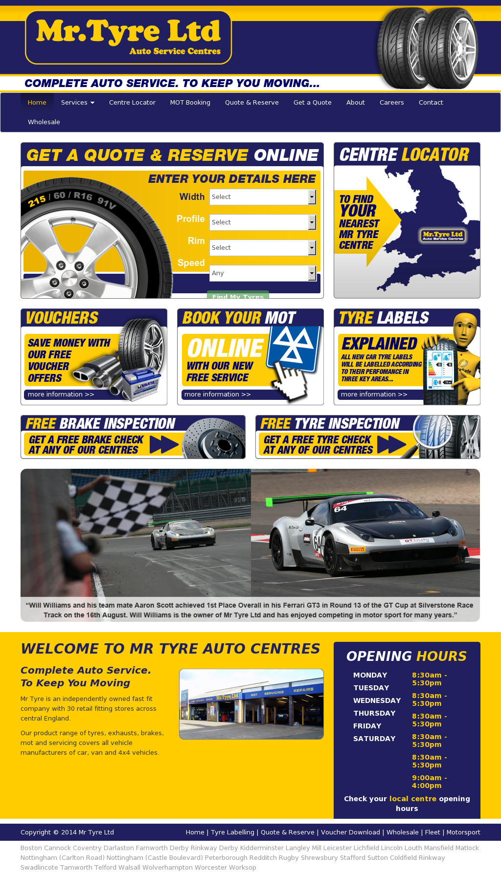 Mr Tyre Leicester >> Mr Tyre Competitors Revenue And Employees Owler Company