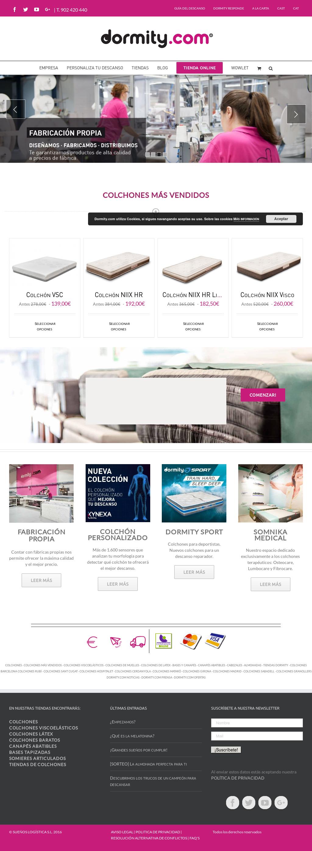 Colchones Girona Dormity.Dormity Competitors Revenue And Employees Owler Company Profile