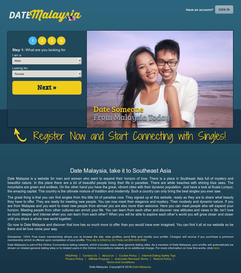 website dating malaysia dating meget ældre velhavende mand