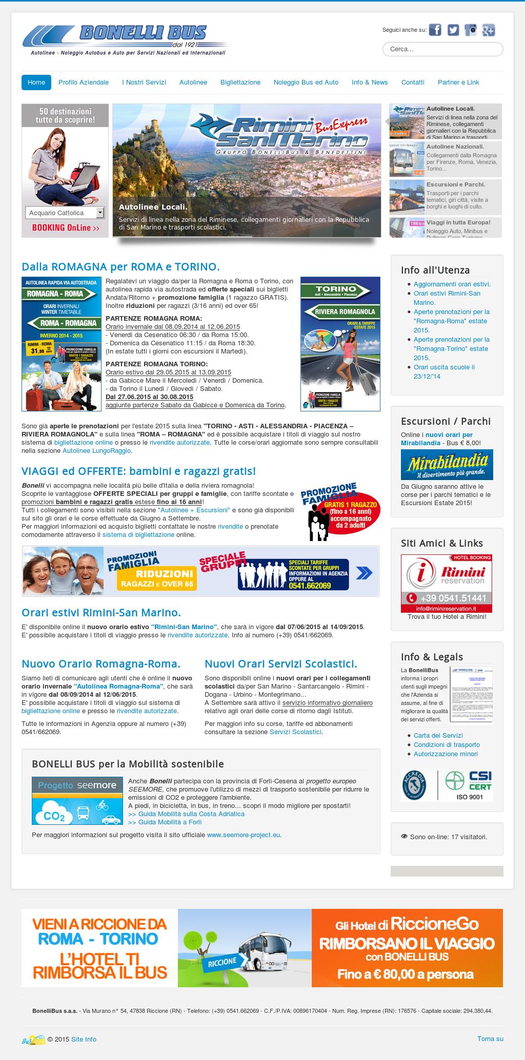 Miglior sito Web di collegamento 2015