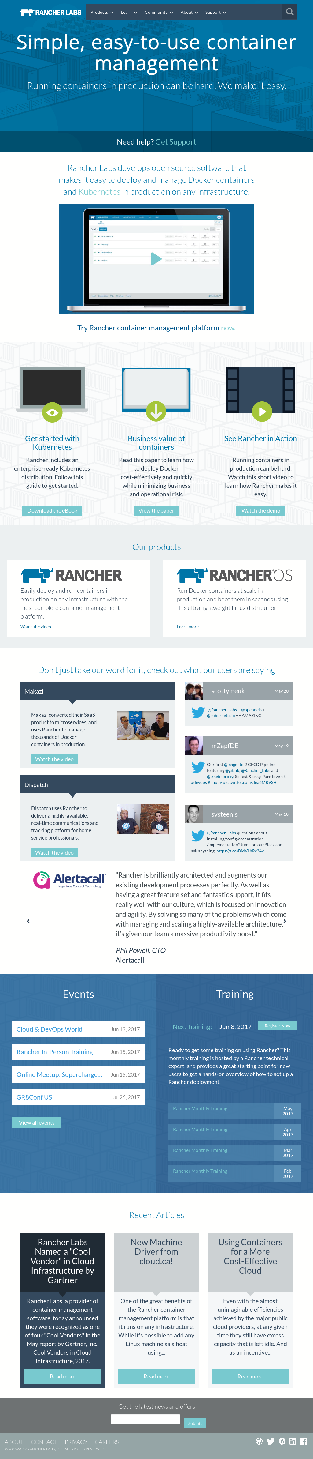 Rancher Competitors, Revenue and Employees - Owler Company