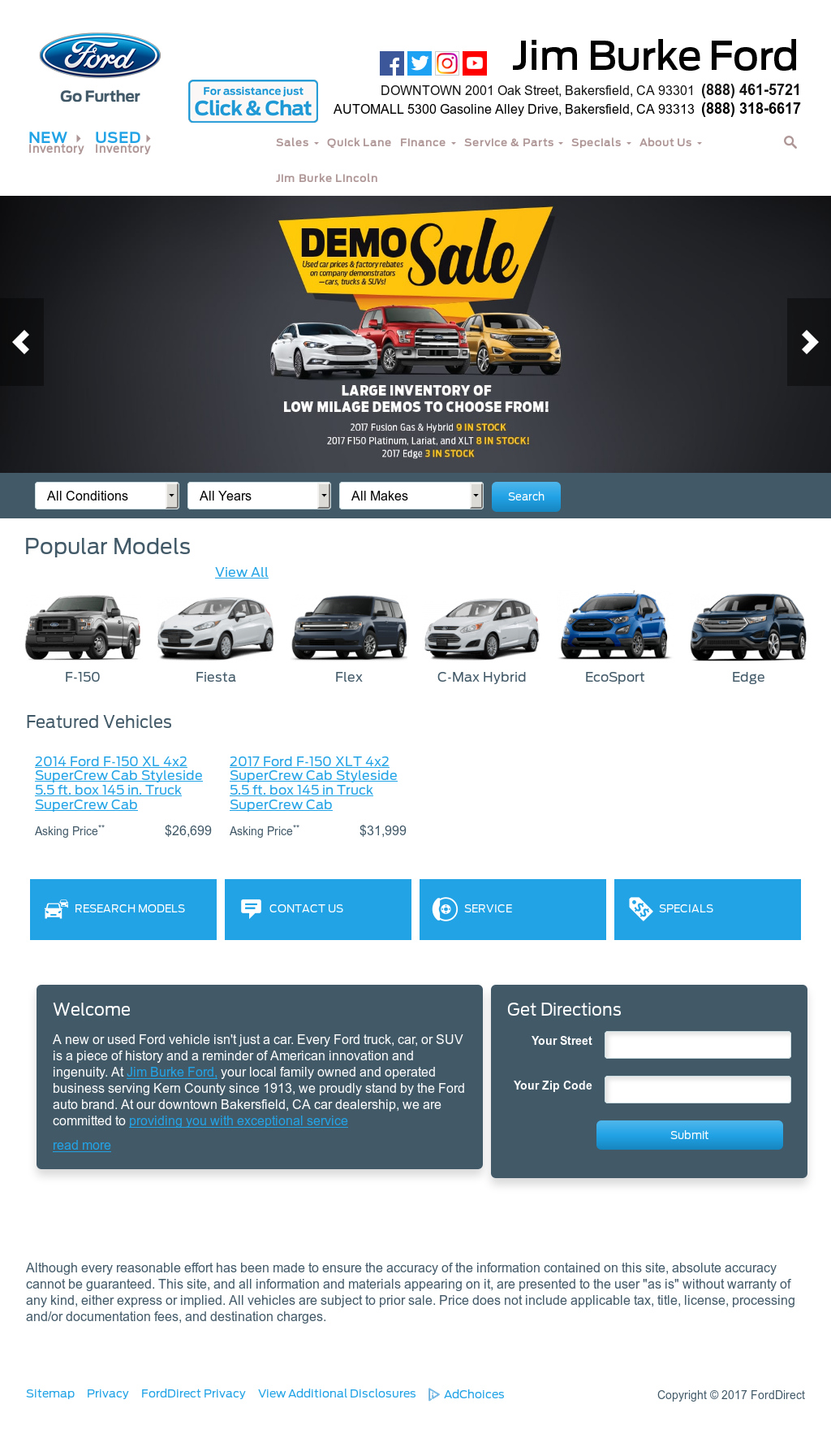 Jim Burke Ford Bakersfield >> Jim Burke Ford Competitors Revenue And Employees Owler