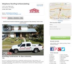 Stephens Roofing U0026 Remodeling Website History
