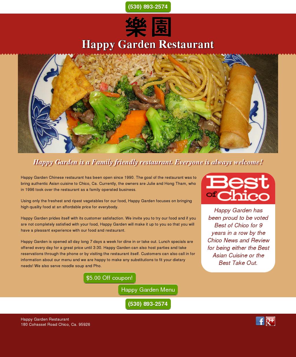 happy garden restaurant chico competitors revenue and employees owler company profile - Happy Garden Chico
