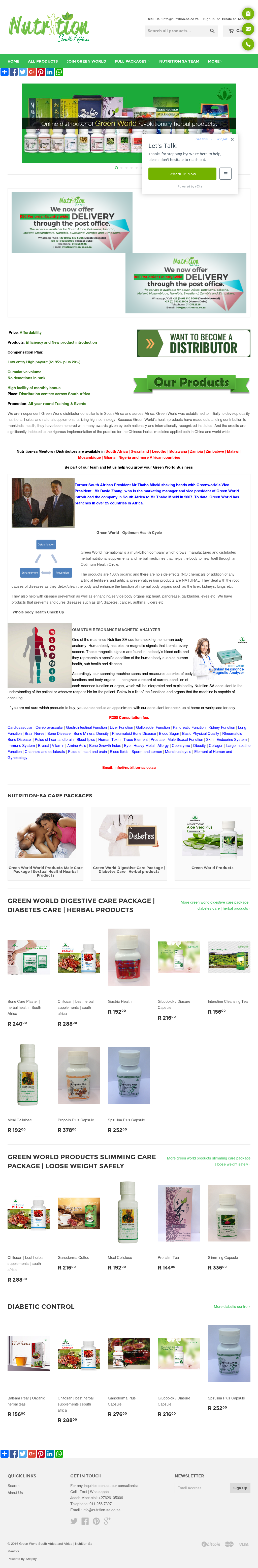 Green World Food Supplement Competitors Revenue And Employees