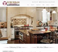 Suburban Marble Granite Website History