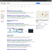 Intuzion Technologies website history