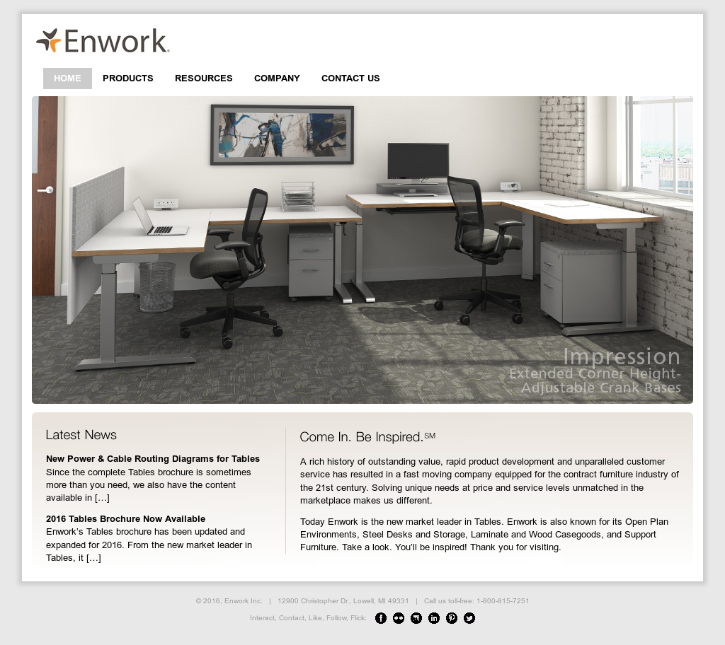 Enwork Tables Brochure Review Home Decor