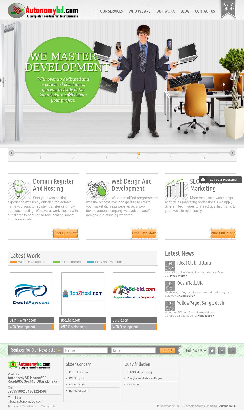 Autonomy Bd Competitors, Revenue and Employees - Owler Company Profile