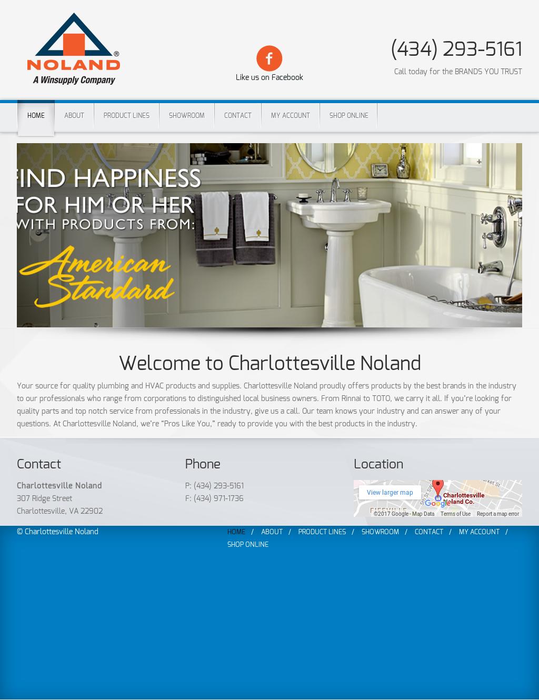Noland Company Bath Idea Center Charlottesville Va Competitors