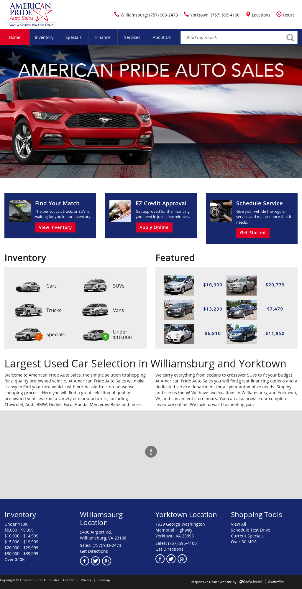 Pride Auto Sales >> American Pride Auto Sales Competitors Revenue And Employees