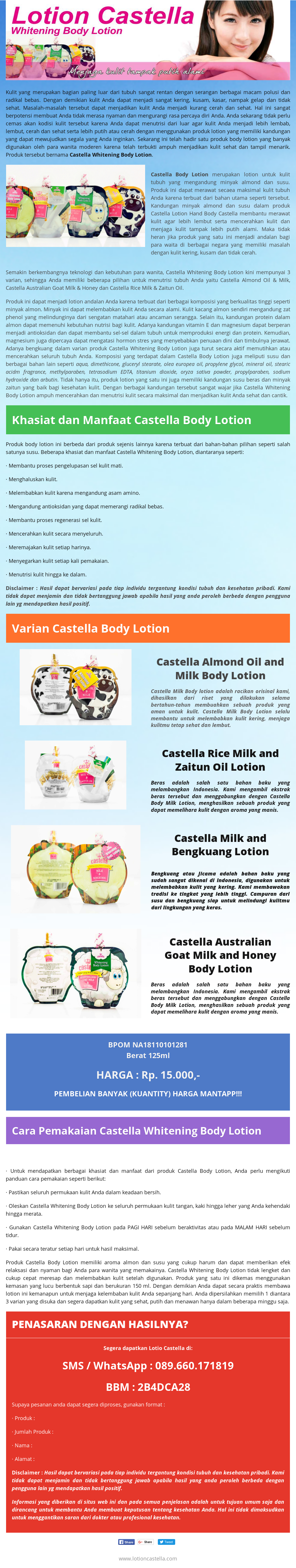 Lotioncastella Competitors Revenue And Employees Owler Company Castella Whitening Body Lotion Profile