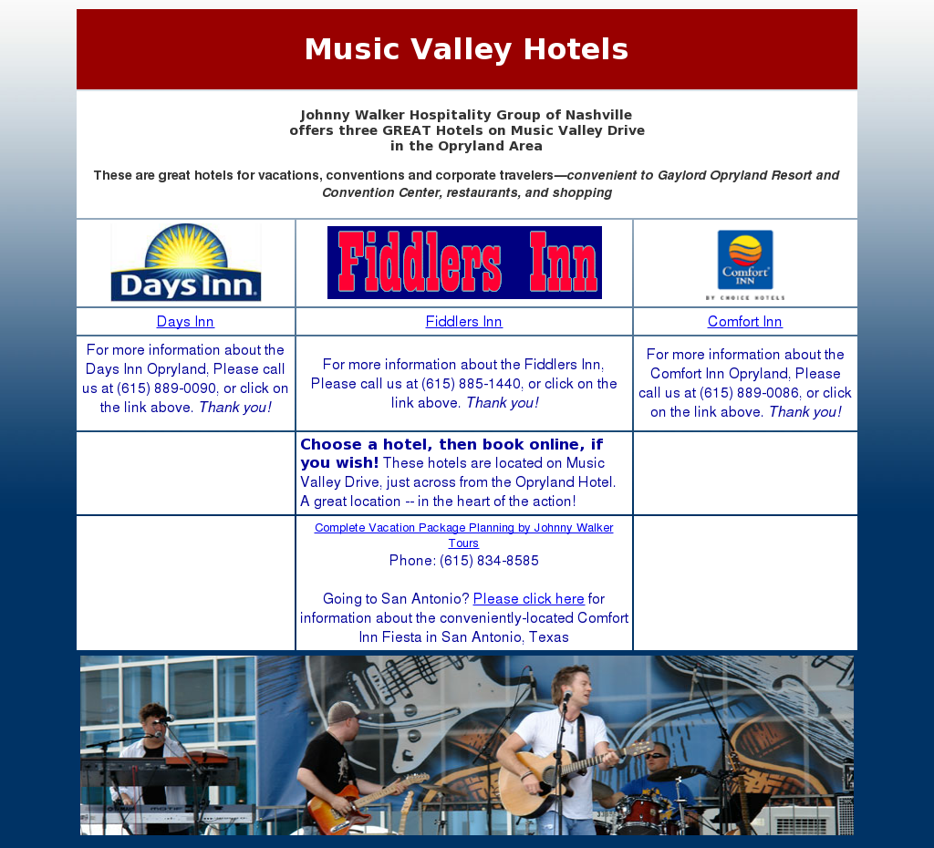Music Valley Hotels Compeors Revenue And Employees Owler Company Profile