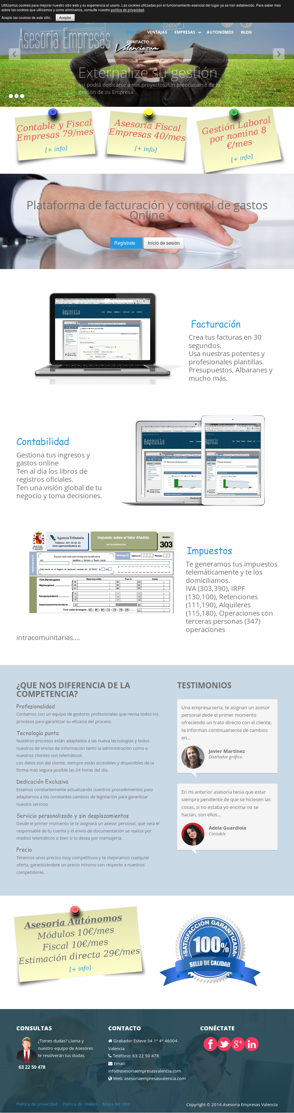 Asesoria Empresas Valencia Competitors, Revenue and Employees ...
