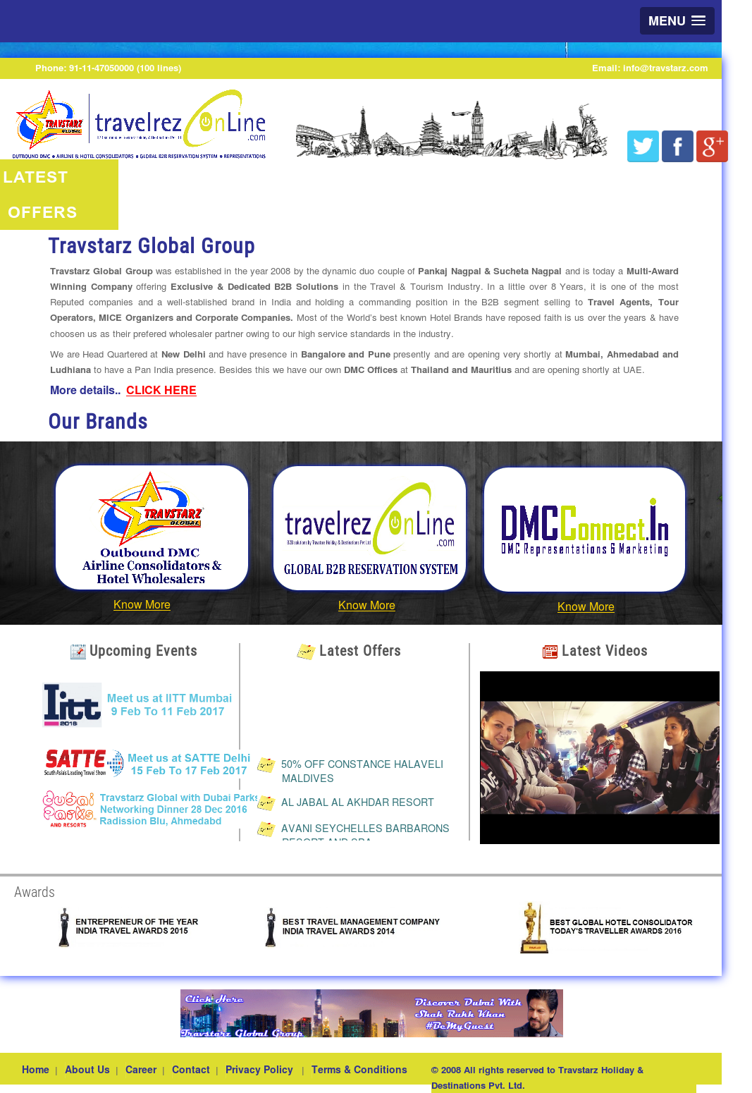 Travstarz Holiday & Destinations Competitors, Revenue and