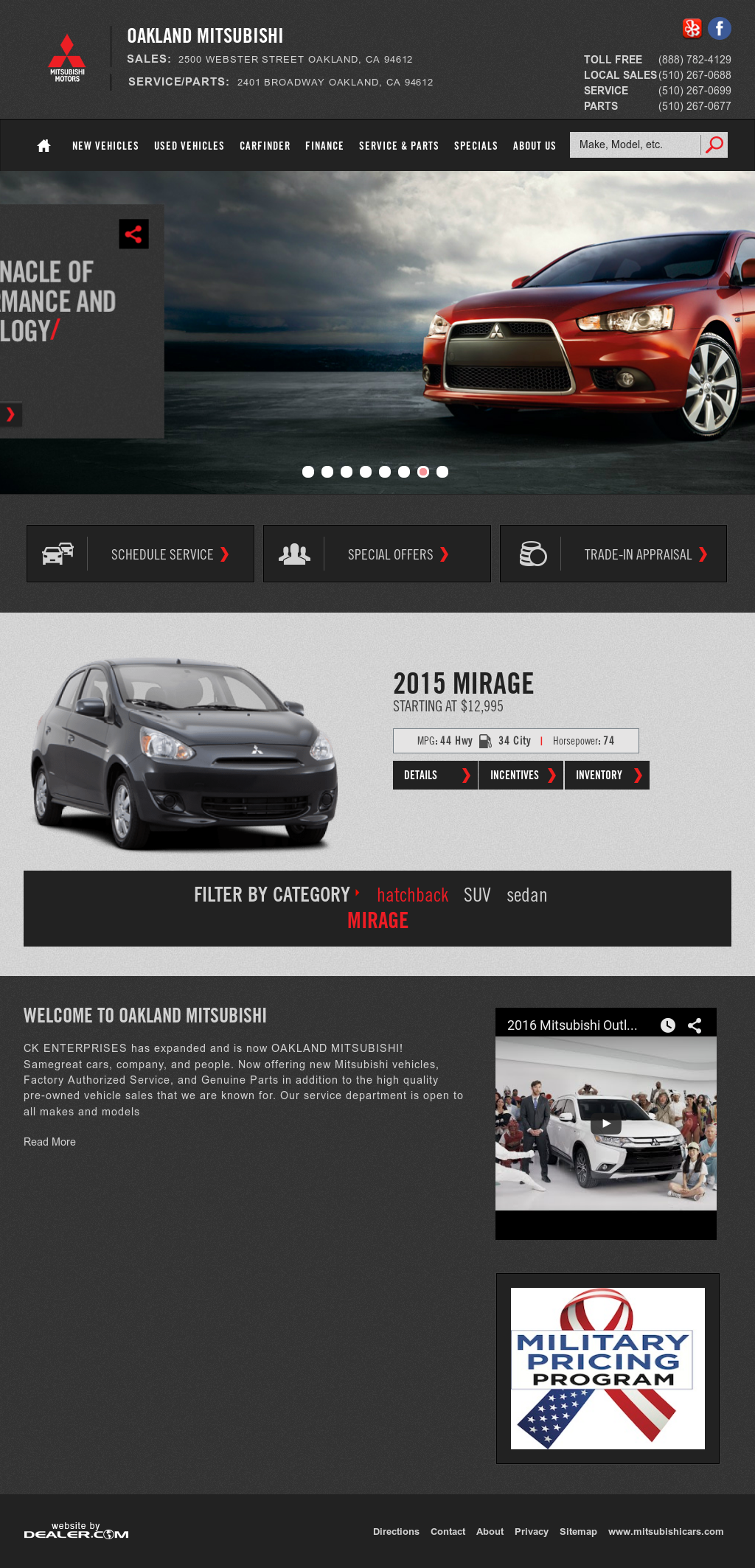 Oakland Mitsubishi Compeors, Revenue and Employees - Owler ...