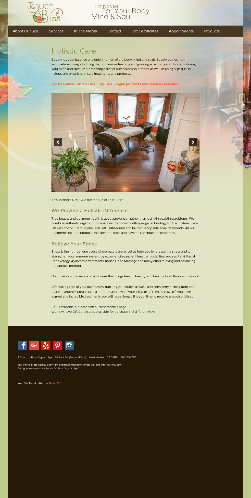 A Touch Of Bliss Organic Spa Competitors, Revenue and Employees - Owler Company Profile