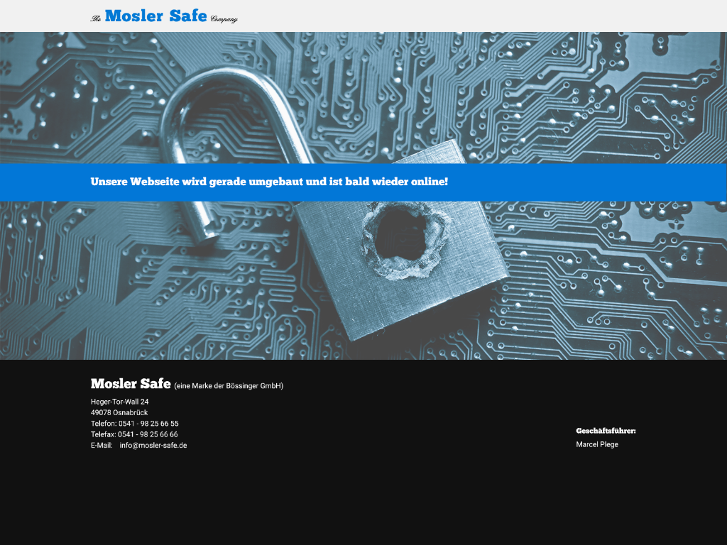 Mosler Safe Competitors, Revenue and Employees - Owler Company Profile