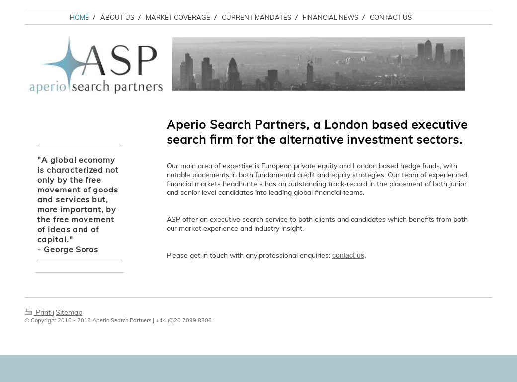 Aperio Search Partners Competitors, Revenue and Employees - Owler