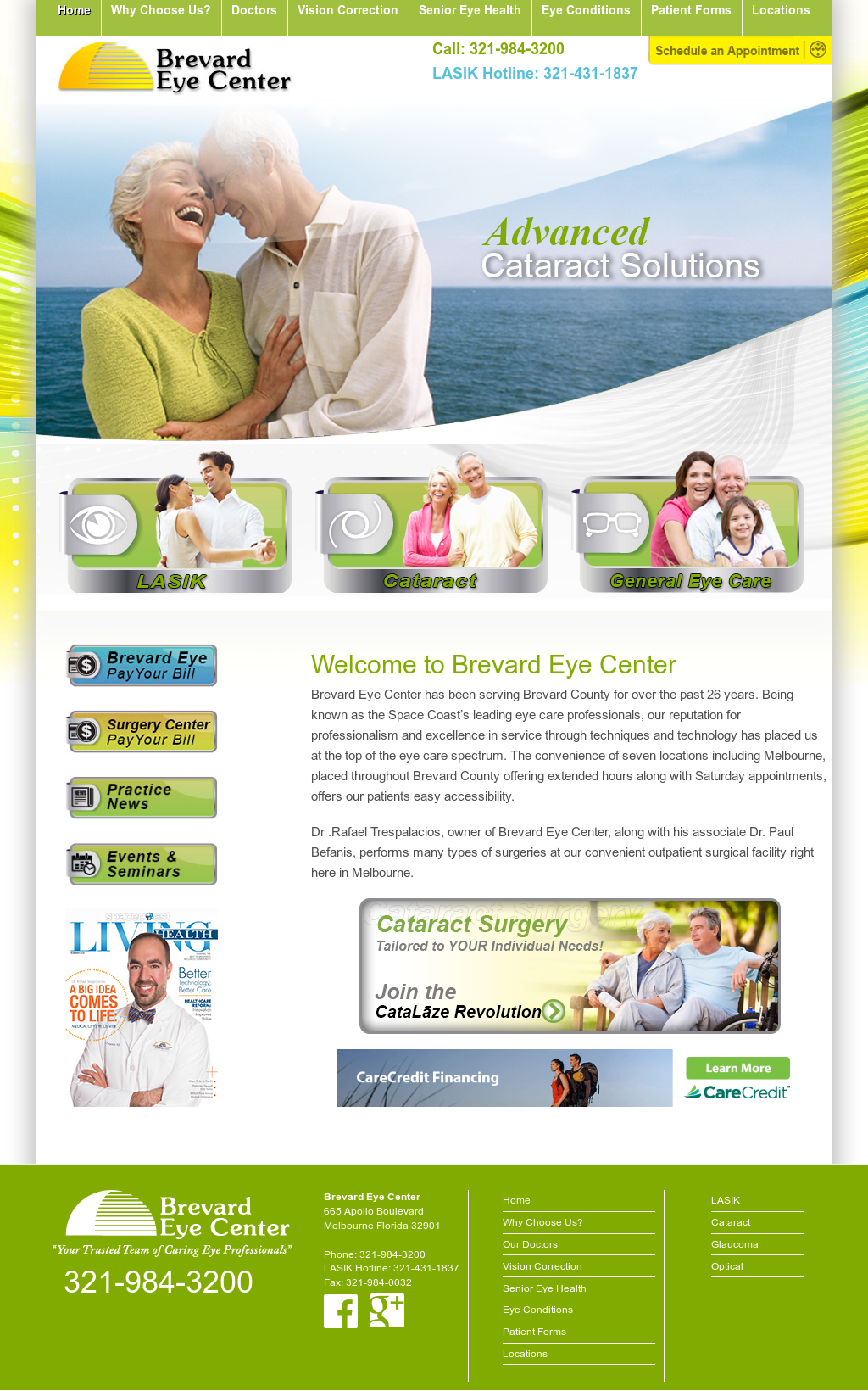 Brevard Eye Center Competitors, Revenue and Employees - Owler