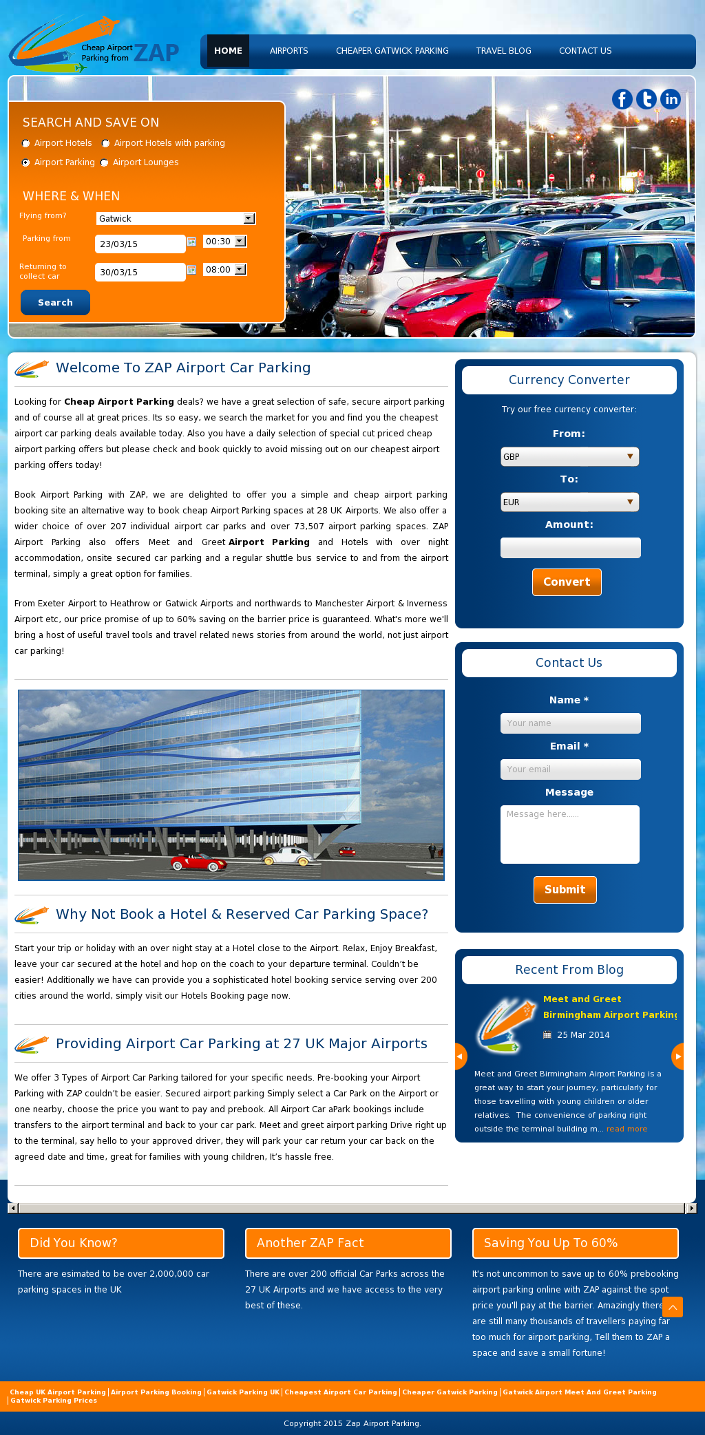 Zap airport car parking competitors revenue and employees owler zap airport car parking website history kristyandbryce Images