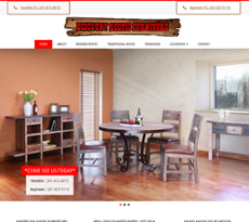 Discount Rustic Furniture Warehouse Website History