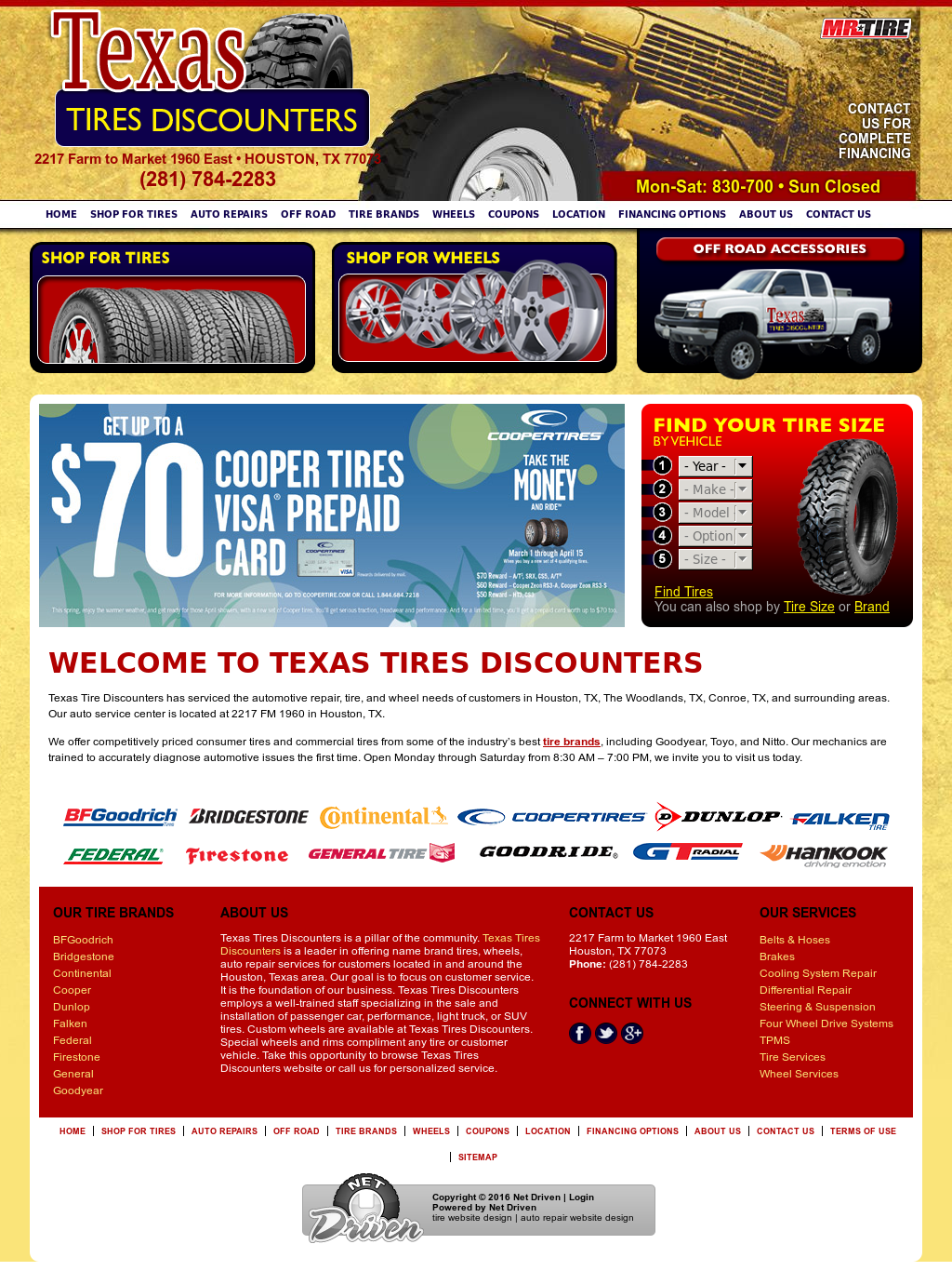 Texas Tires Discounters Competitors Revenue And Employees Owler
