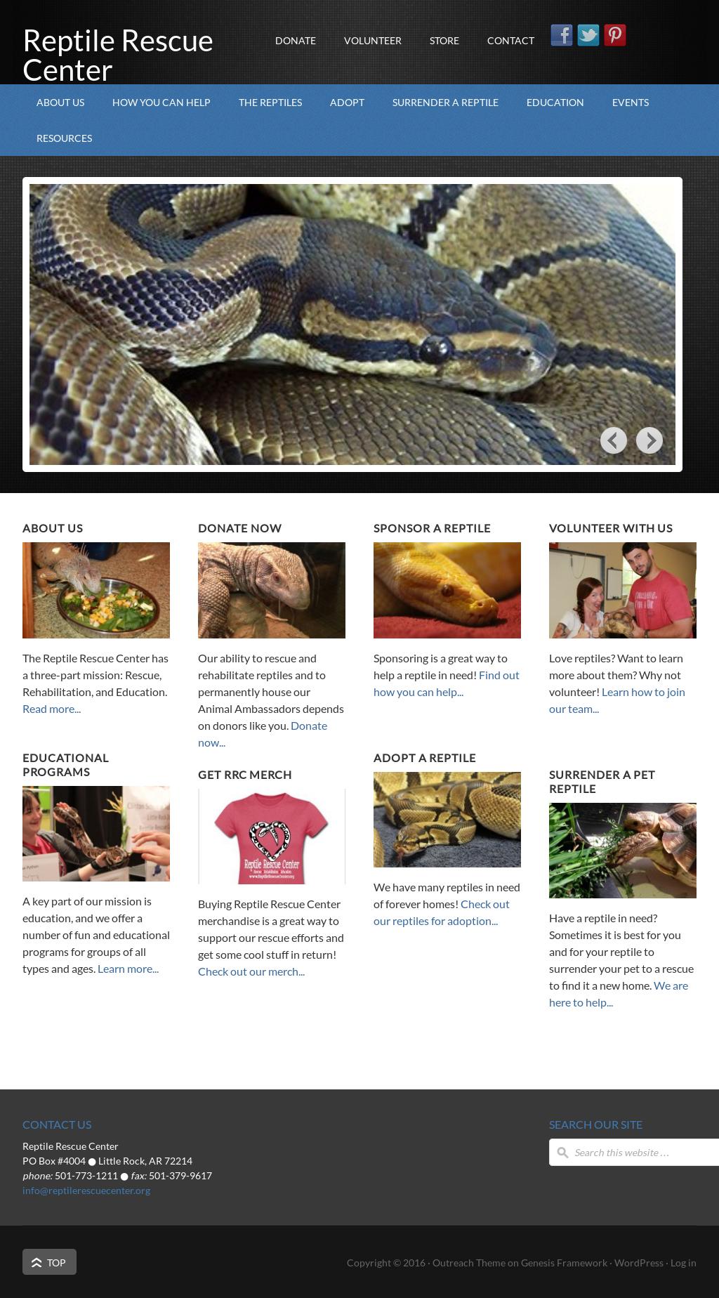 Reptile Rescue Center Competitors, Revenue and Employees