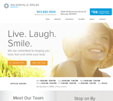Wilsonville Smiles Dentistry Competitors, Revenue and