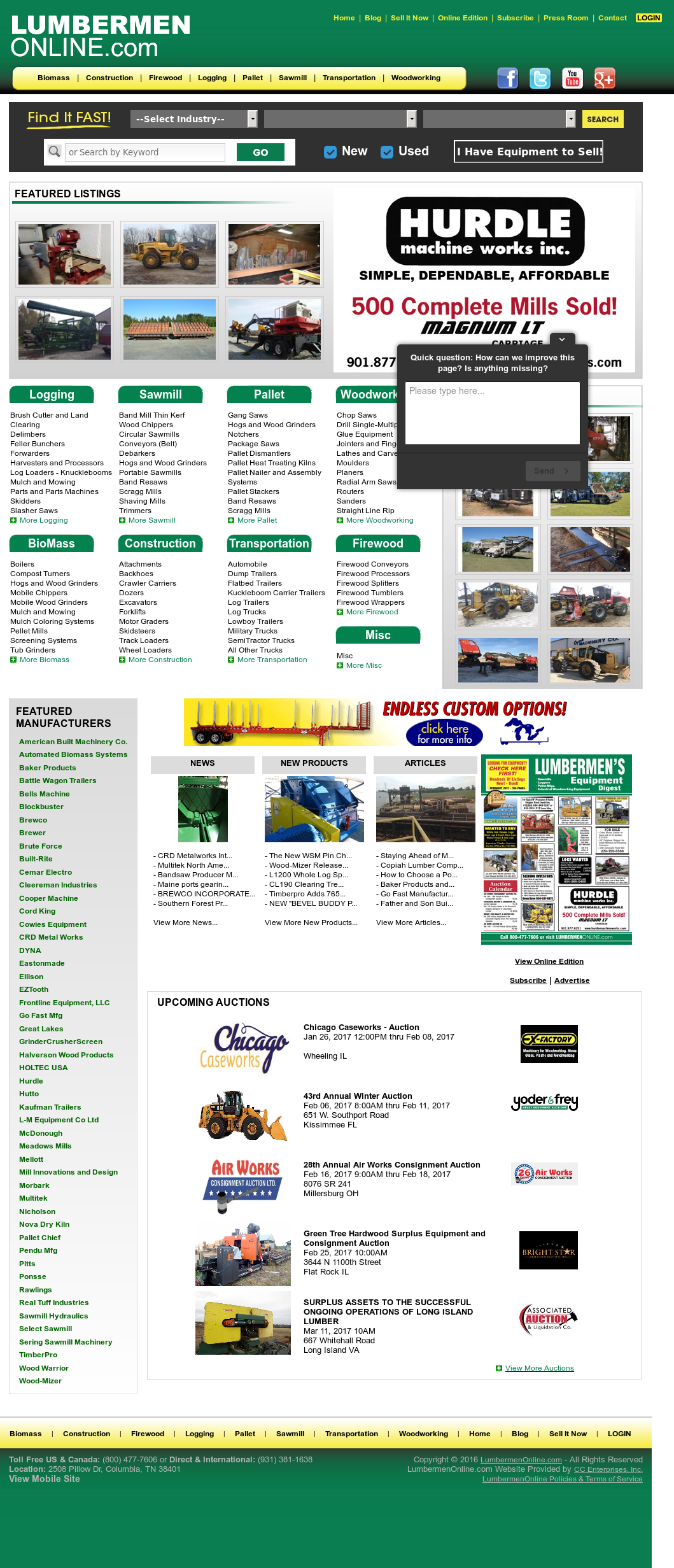 Lumbermen Online Competitors, Revenue and Employees - Owler Company