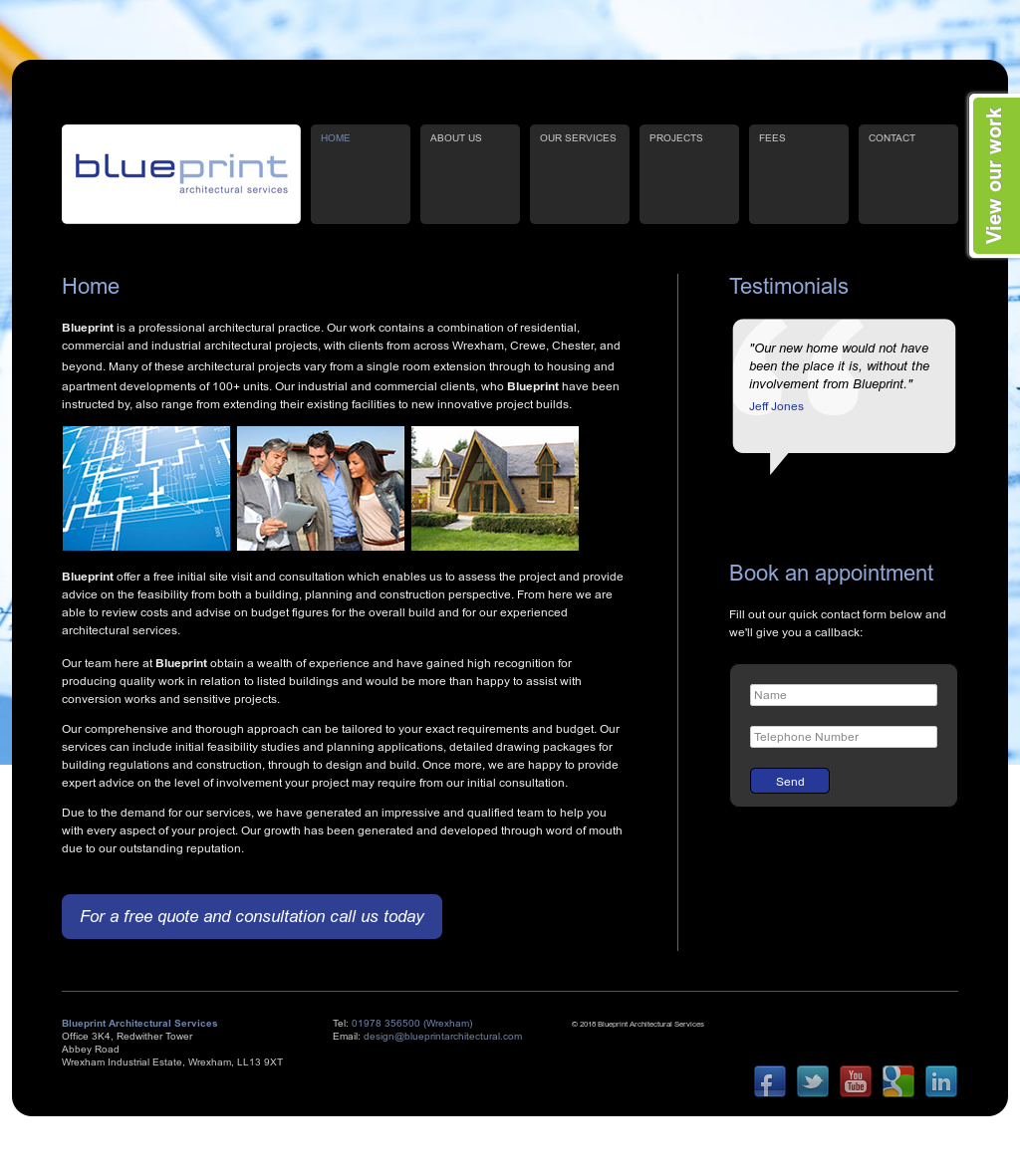 Blueprint architectural services competitors revenue and employees blueprint architectural services website history malvernweather Image collections
