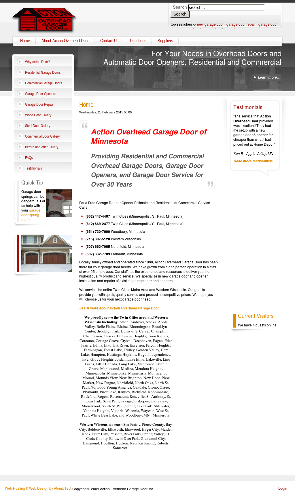 Action Overhead Garage Door Competitors, Revenue And Employees   Owler  Company Profile