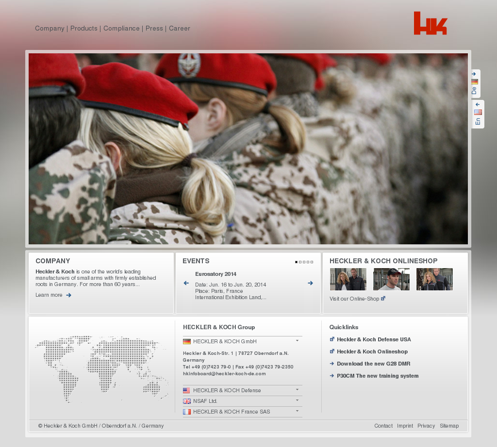 Heckler Koch Competitors, Revenue and Employees - Owler Company Profile