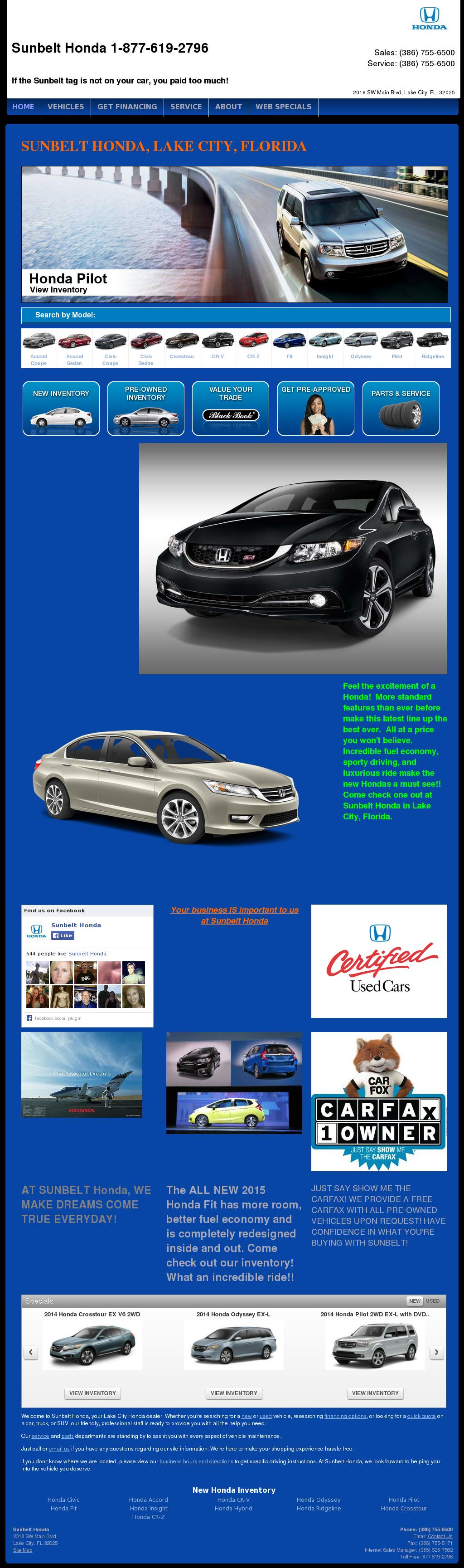 Wonderful Sunbelt Honda Competitors, Revenue And Employees   Owler Company Profile
