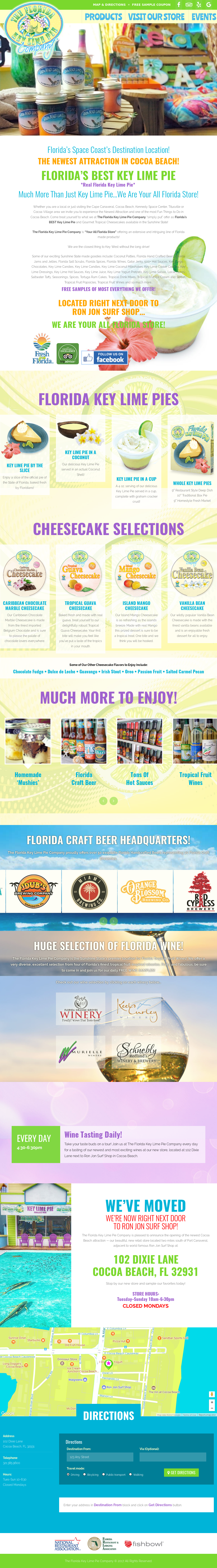 Floridakeylimepiecompany Competitors, Revenue and Employees