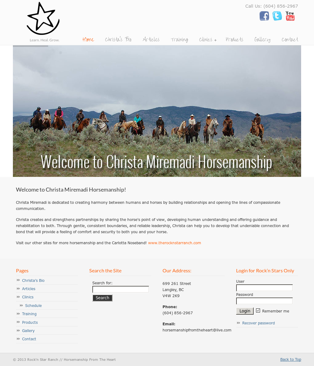 Horsemanshipfromtheheart Competitors, Revenue and Employees - Owler ...