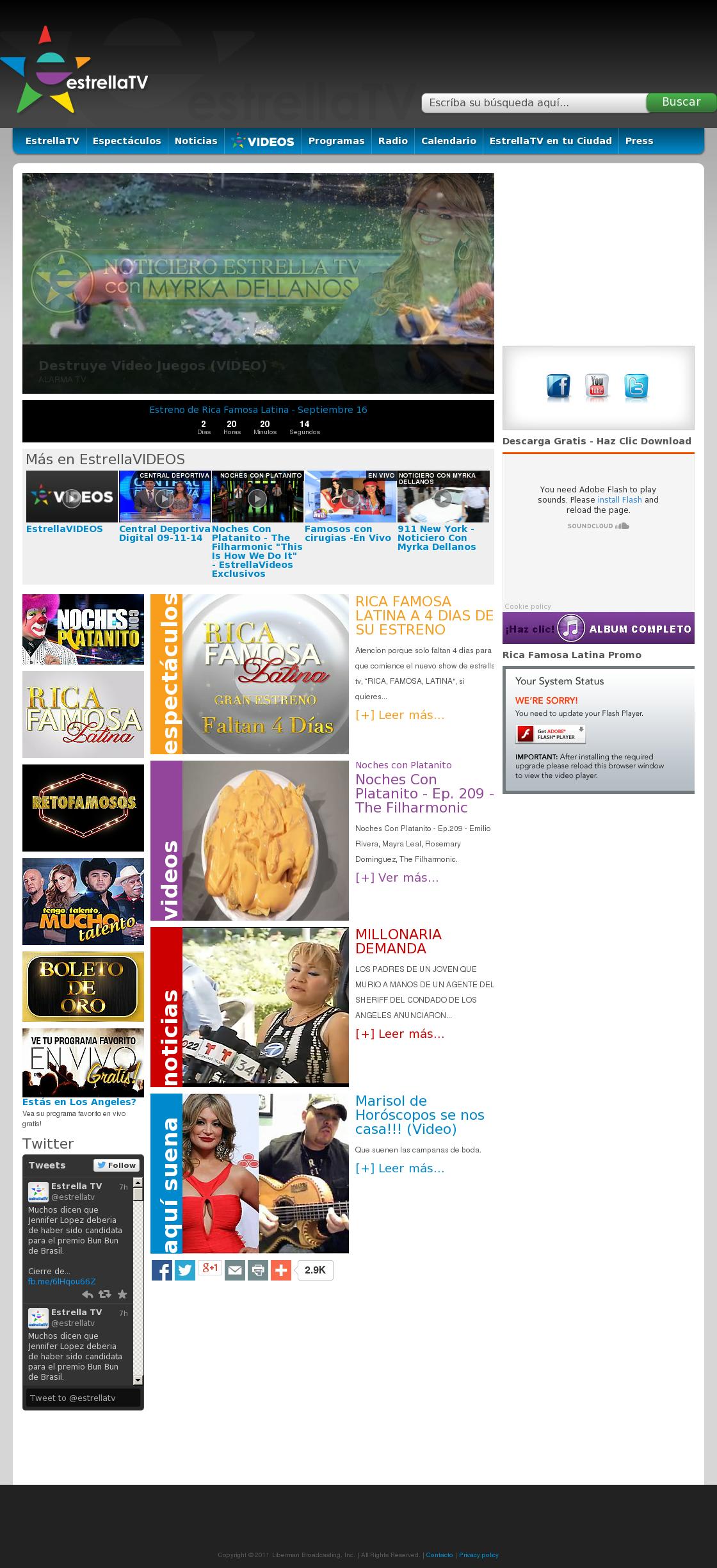 estrella tv competitors revenue and employees owler company profile
