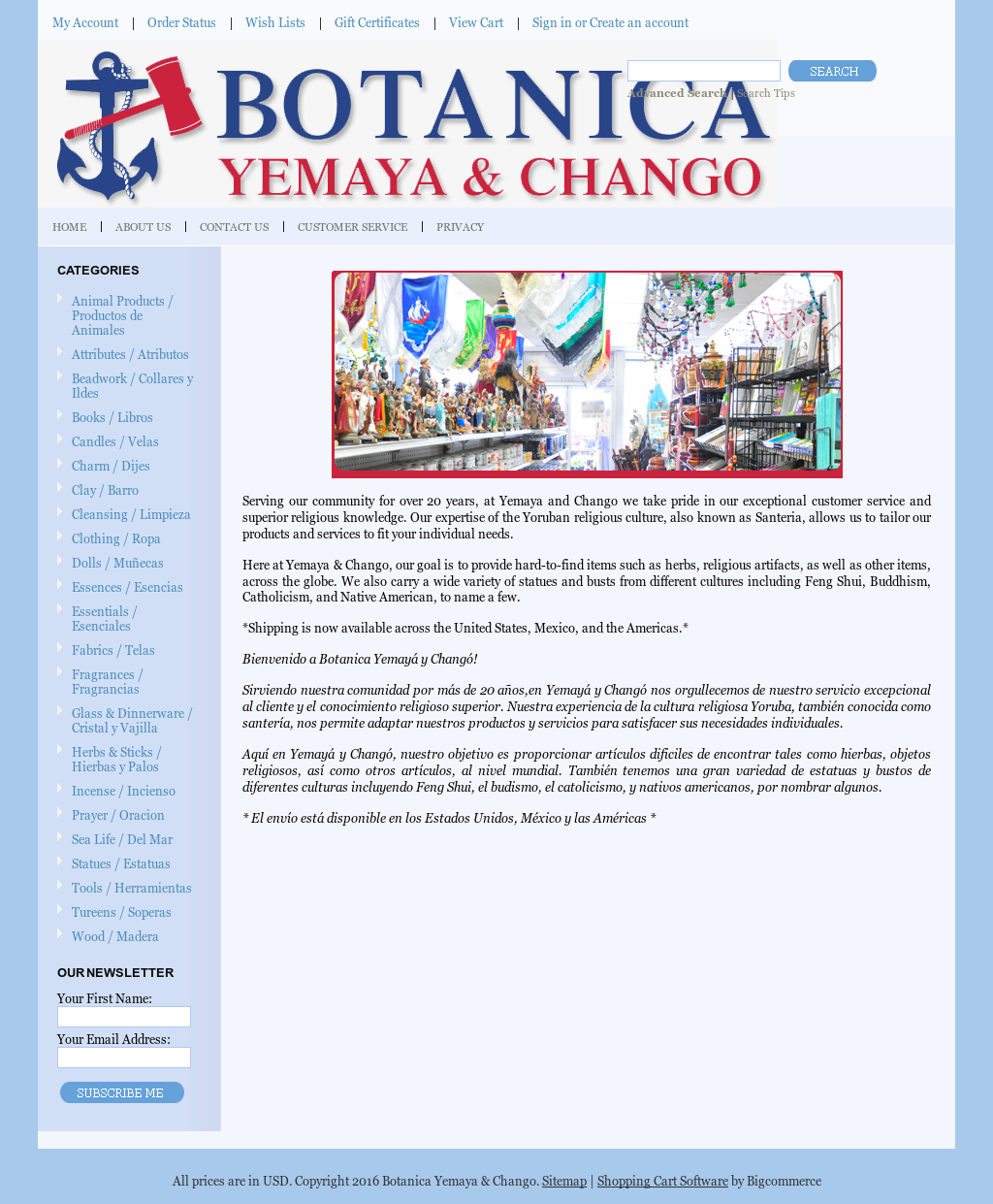 Botanica Yemaya & Chango Competitors, Revenue and Employees