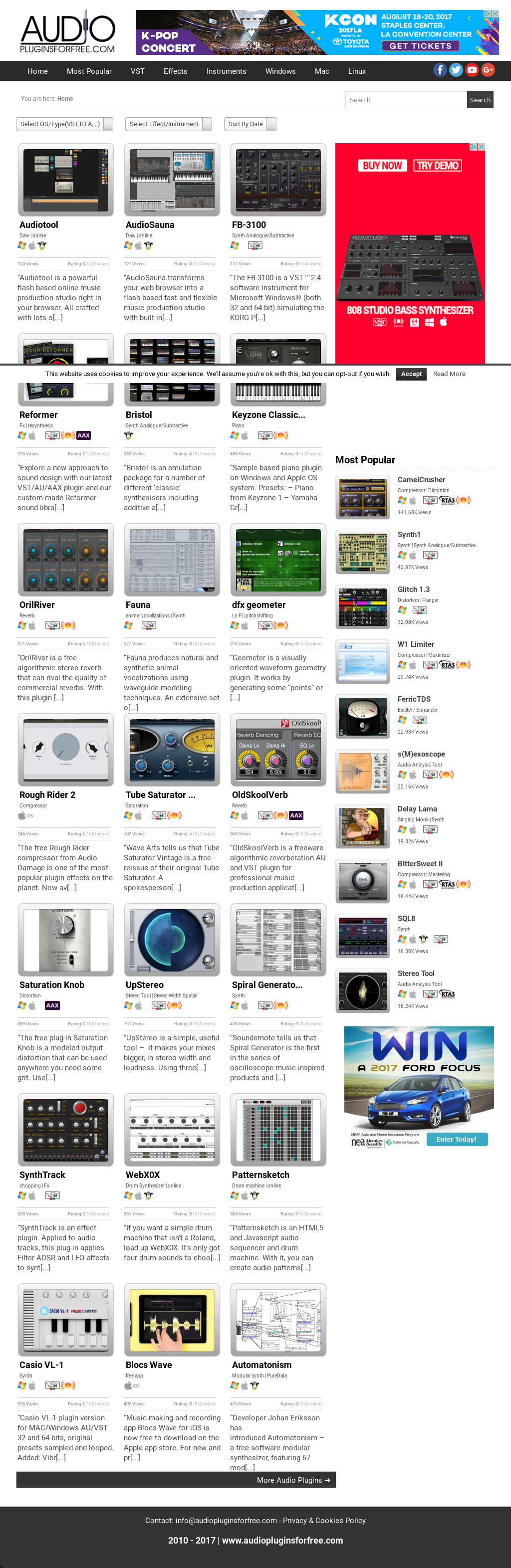 Audio Plugins For Free Competitors, Revenue and Employees