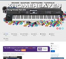 Owler Reports - Kromeheaven Korg Krome Site Blog Vote for your